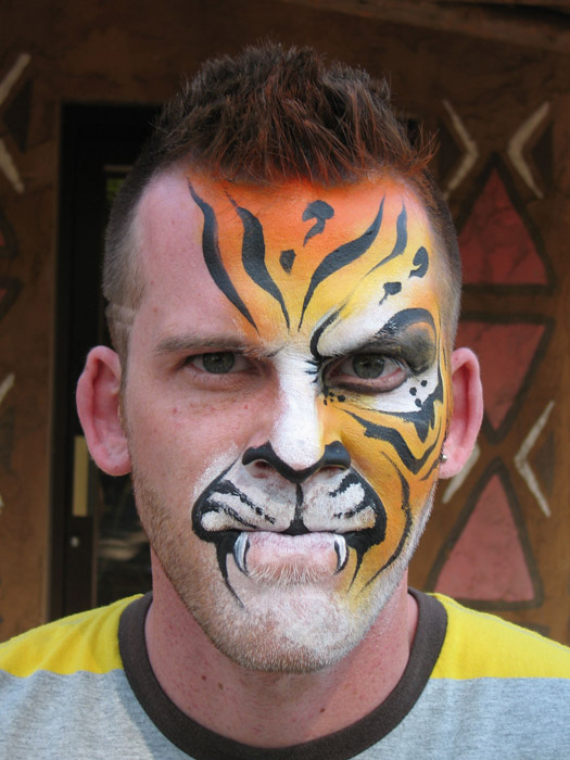 Full Face Tigerman