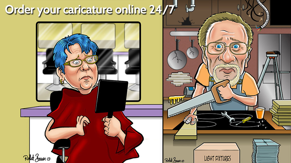 online Caricature ordering