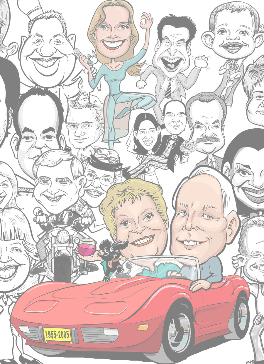 Best caricature artists and local event caricaturist for hire goofy faces