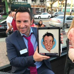 caricature from an excellent caricaturist