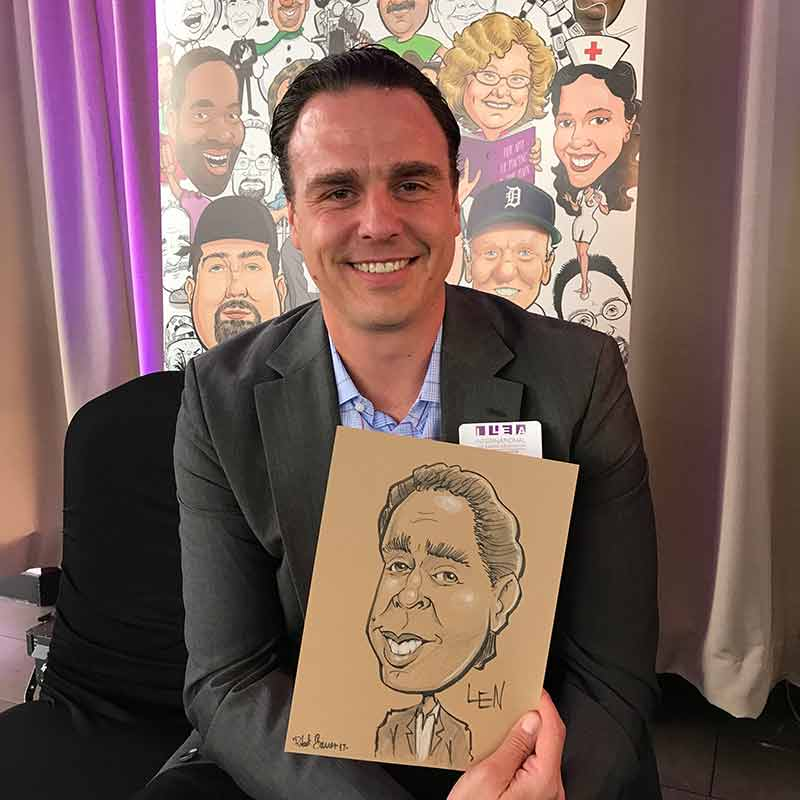 Best caricature artists for corporate events