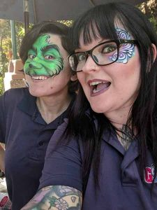 Great Face painting