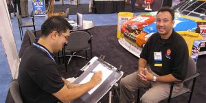 Trade Show Caricature