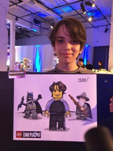 Lego Event Caricature
