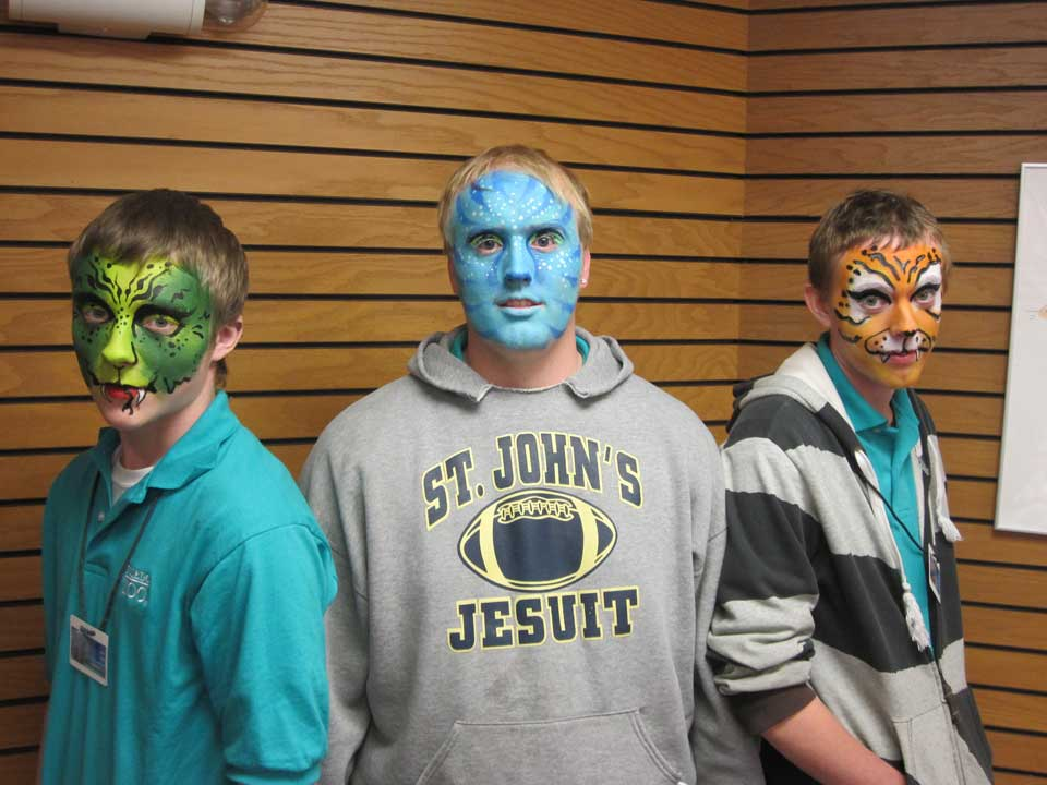 Face Painting School Events