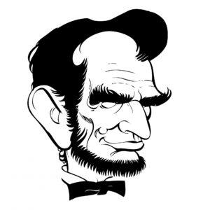 Abraham Lincoln Caricature