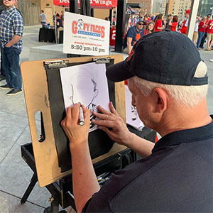 Hiring an Event Caricature Artist