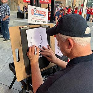 Hiring an Event Caricature Artist