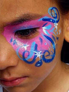 Face Painting from a professional face painter