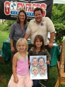 A Family Caricature Makes Memories Last