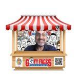 Zoom party entertainment - Live digital caricatures